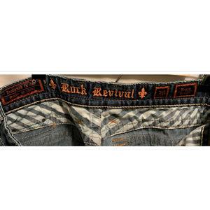 Rock Revival Jeans - Size 36 Rock Revival Jeans Bryan Straight 36x35